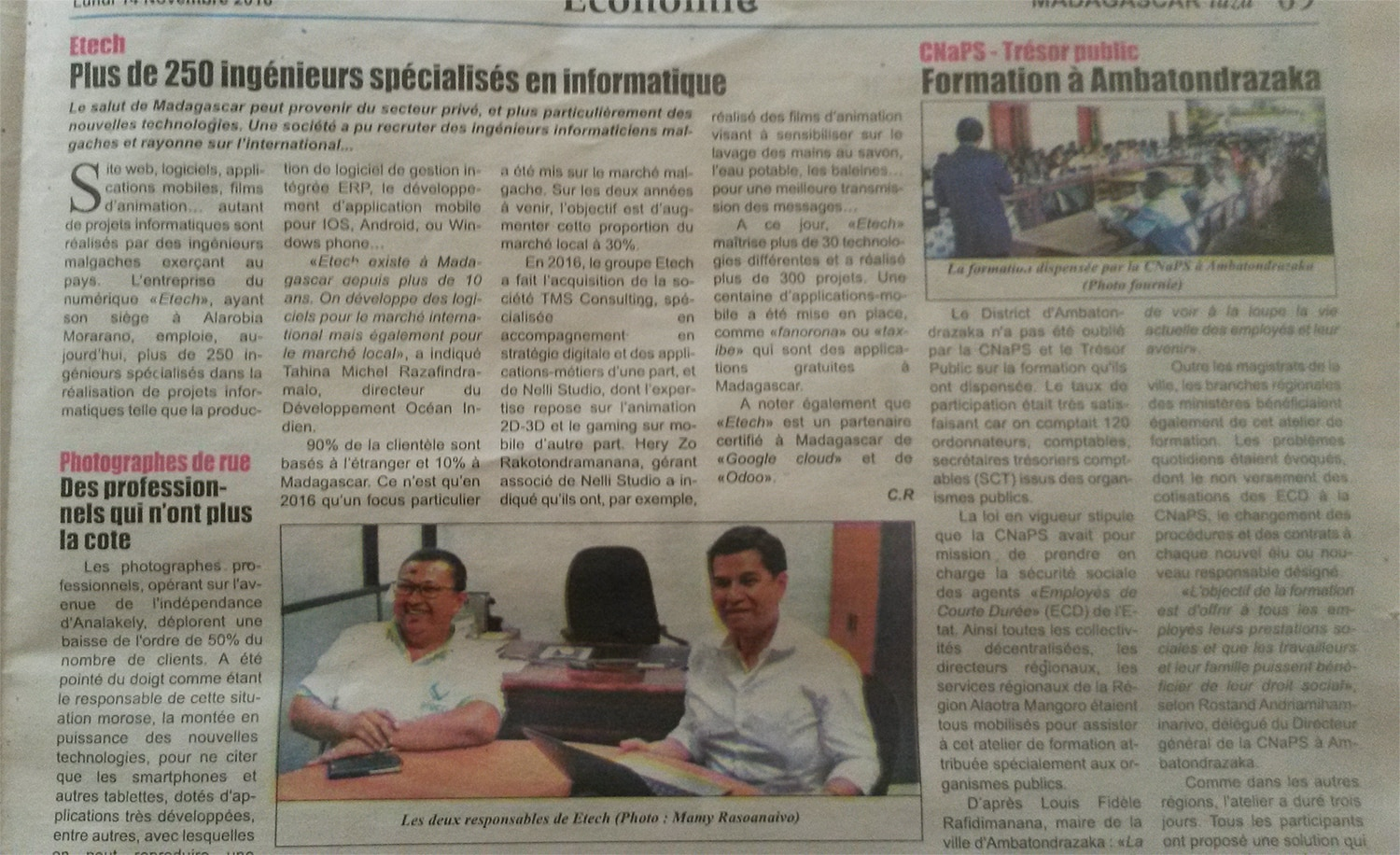 Interview eTech