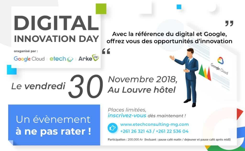 Innovation day Google eTech