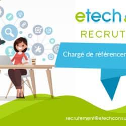 Chargé de référencement - eTech