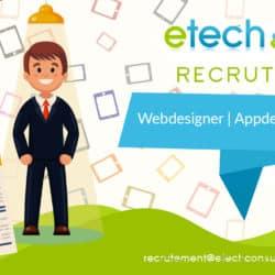 Webdesigner/appdesigner - eTech