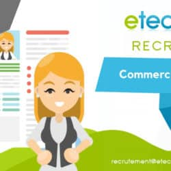 recrutement commercial - eTech
