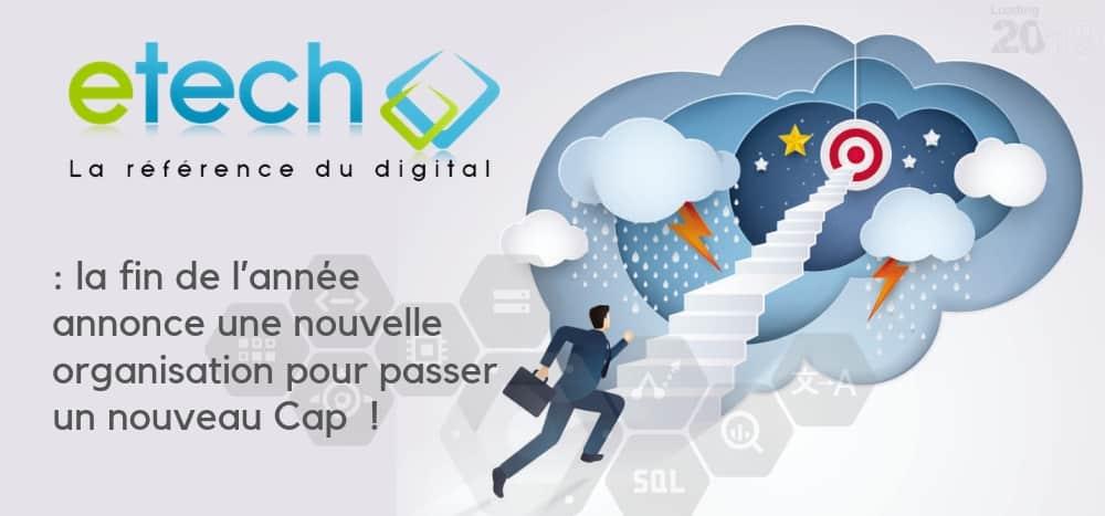 Nouvelle organisation agile - eTech