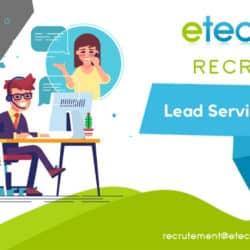 Lead service client - eTech