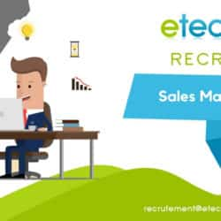Sales manager - eTech