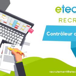 recrutement contrôleur de gestion - eTech