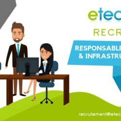 recrutement responsable support infrastructure et IT