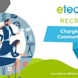 Recrutement chargé de communication - eTech